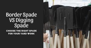 Border Spade VS Digging Spade: Choose The Right Spade For Your Yard Work